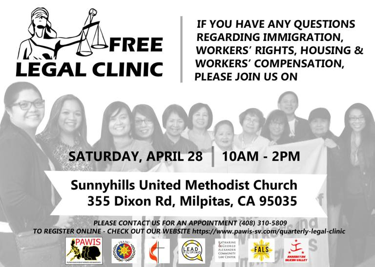 Free Legal Clinic Flyer