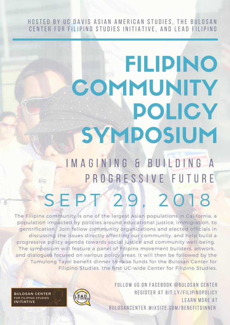 Policy Symposium Flyer