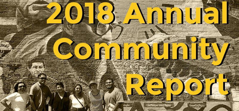 2018 Annual Community Report