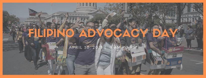 2 Weeks Away: Filipino AdvocacyDay!