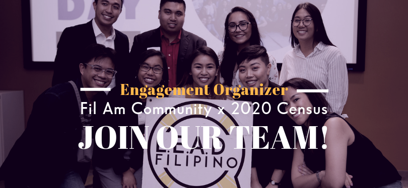 Seasonal Position! Census Engagement Organizer